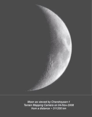 Moon from Chandrayan